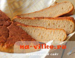 Гречневый хлеб в мультиварке
