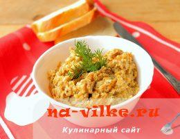 Вкусная и простая икра из вешенок, овощей и чеснока.