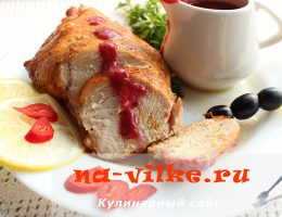 Запекаем в духовке куриное филе с чесноком и молотой паприкой