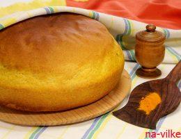 пшенично-ржаной постный хлеб