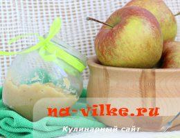 Яблочная горчица с мёдом