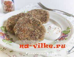 Рецепт котлет из баклажанов