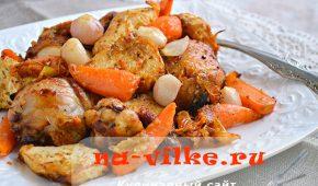 Миниатюра к статье Курица с сельдереем, морковью и томатами в аэрофритюрнице