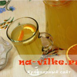 Лимонад из апельсинов и лимонов