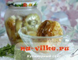Маринованный обжаренный болгарский перец