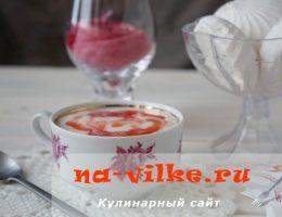 Нежный молочный кисель с клубничным вкусом