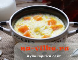 Суп из тыквы с молоком – вкусный, нежный, ароматный
