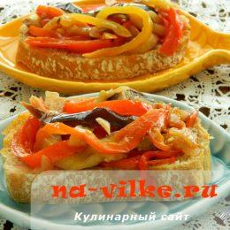 Овощная и фруктовая закуска в мультиварке