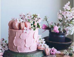 Торт из заварных пирожных
