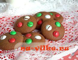 Американское шоколадное печенье с M&M's