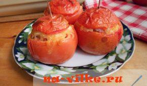 Миниатюра к статье Фаршированные помидоры фаршем и рисом
