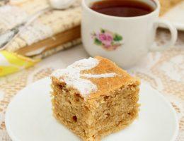 Кофейная коврижка - постный рецепт