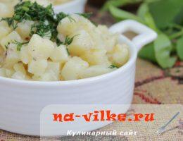 Готовим необычное итальянское ризотто из картофеля