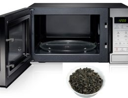 Как правильно жарить семечки подсолнечника и тыквы в микроволновой печи