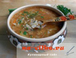 Рецепт приготовления вкусных щей по-деревенски