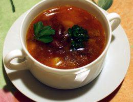 Суп фасолевый
