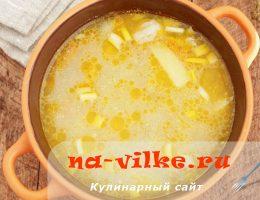 Вкусный домашний суп с гречневыми клецками
