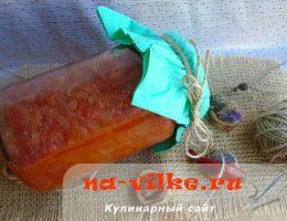 Заготавливаем соус из помидоров и лука на зиму