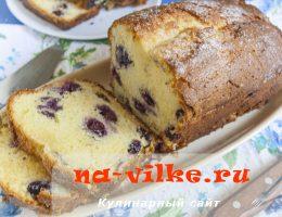 Творожно-лимонный кекс в духовке