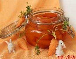 Варенье из моркови в банке