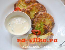 Жареные томаты - аппетитная закуска со сметанным соусом