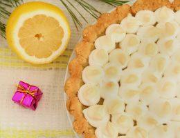 Цитрусовый пирог «Сугробы»